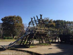 [八千代総合運動公園]アスレチック的遊具で子供の成長を実感!