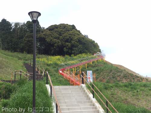 【印西】木下貝層横の長い滑り台はいつまで工事中?